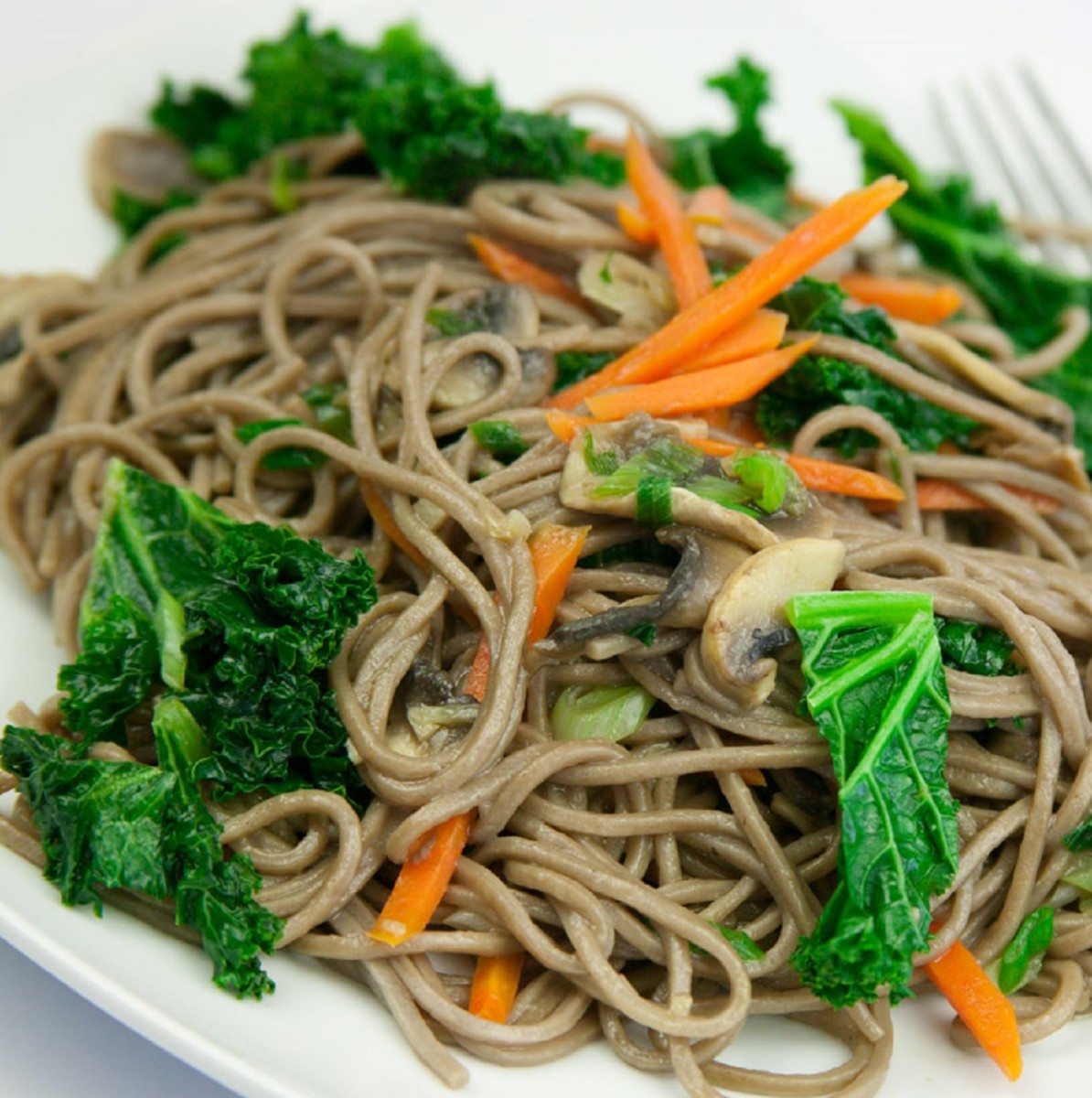 Buckwheat Noodle Stir Fry