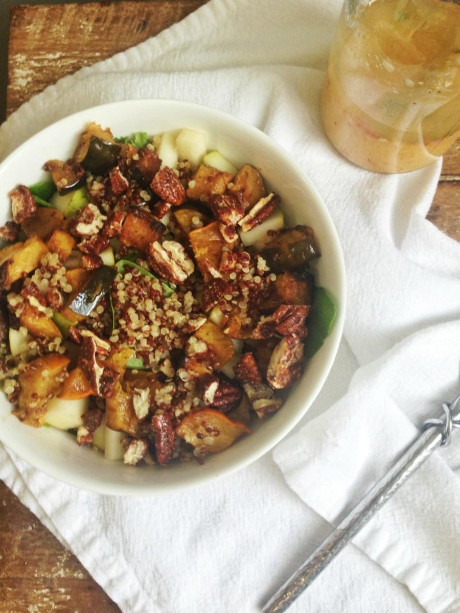 winter quinoa salad long