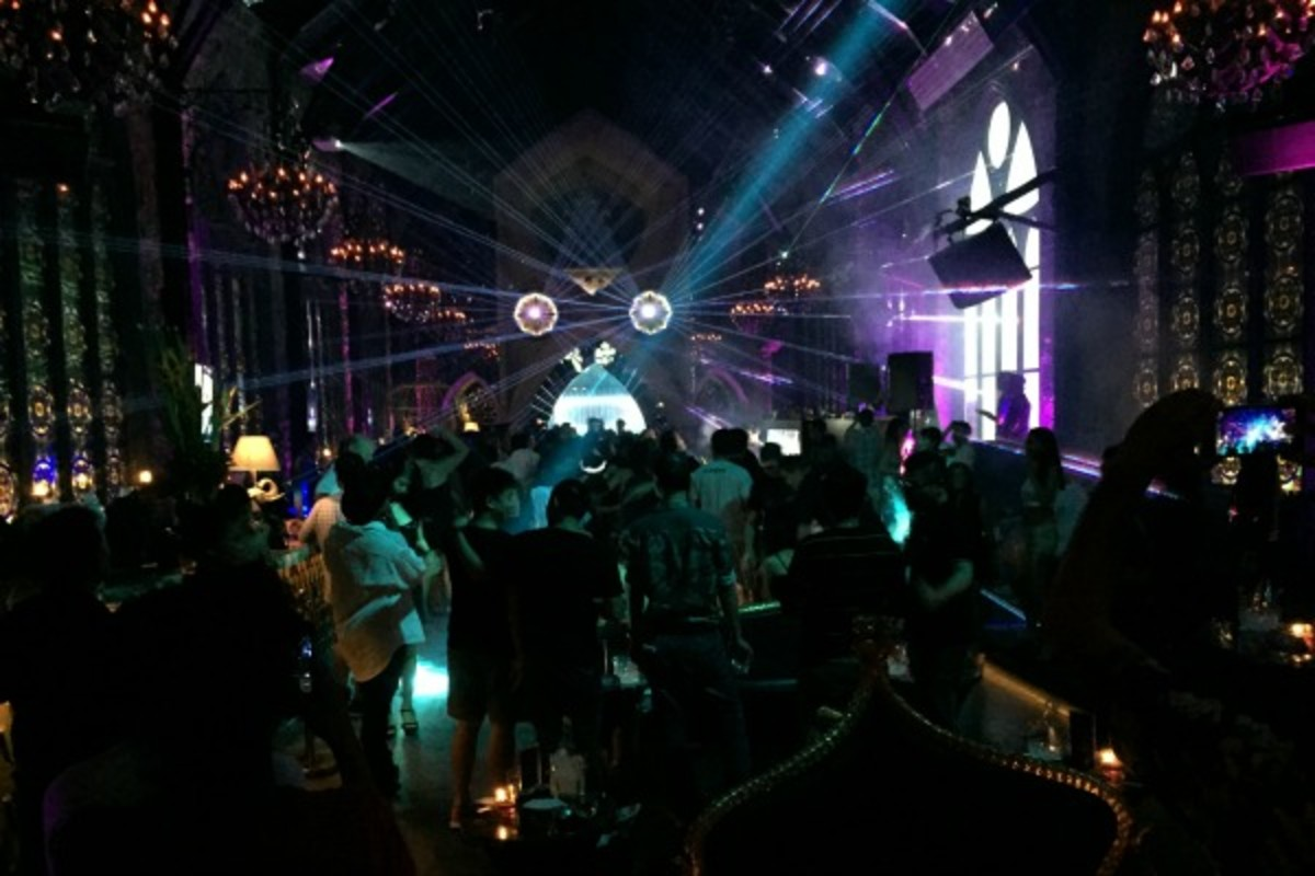 mirror night club in bali