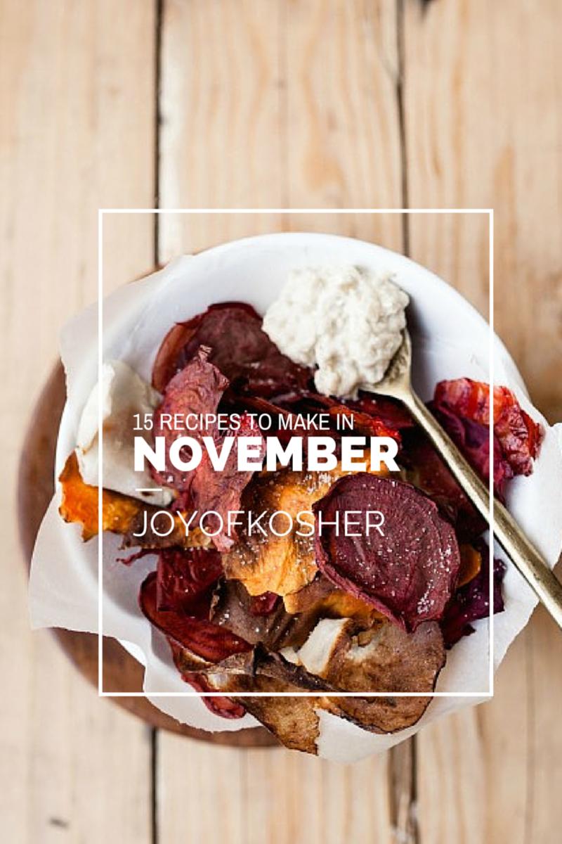november recipes