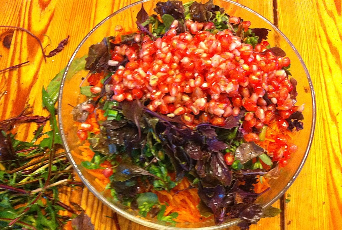 Salad with Pomegranate