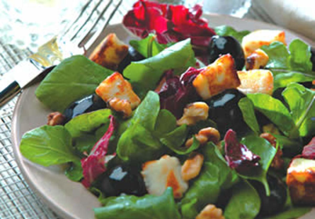 Saganaki Salad