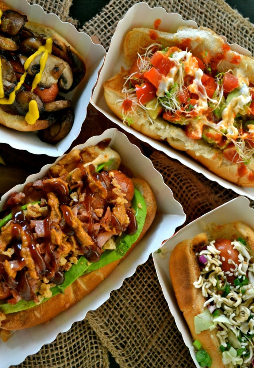 Hot Dog Topper Sampler - check out all 4 recipes for amazing ideas for your next BBQ bash