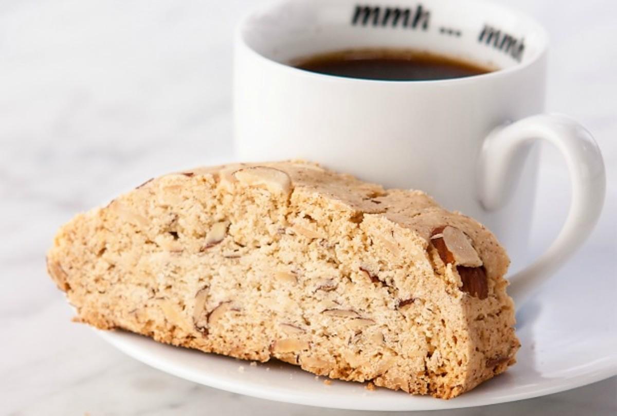gluten free almond mandelbrot