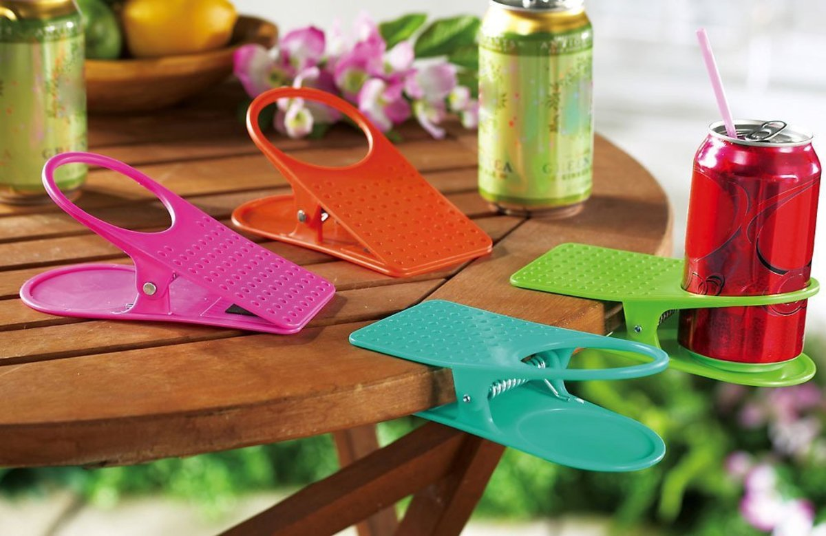 Colorful Clip Table Holders