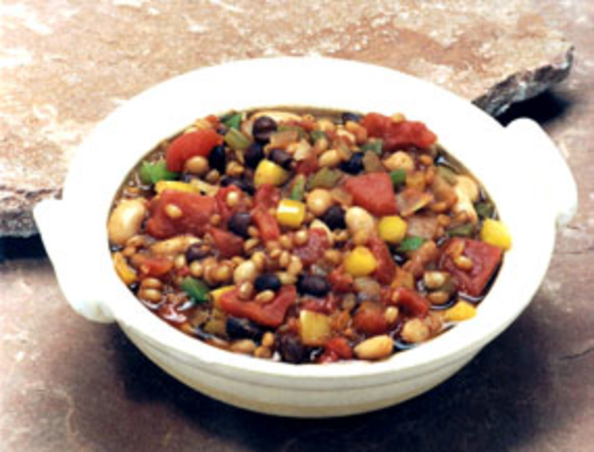 Wheat Berry Chili