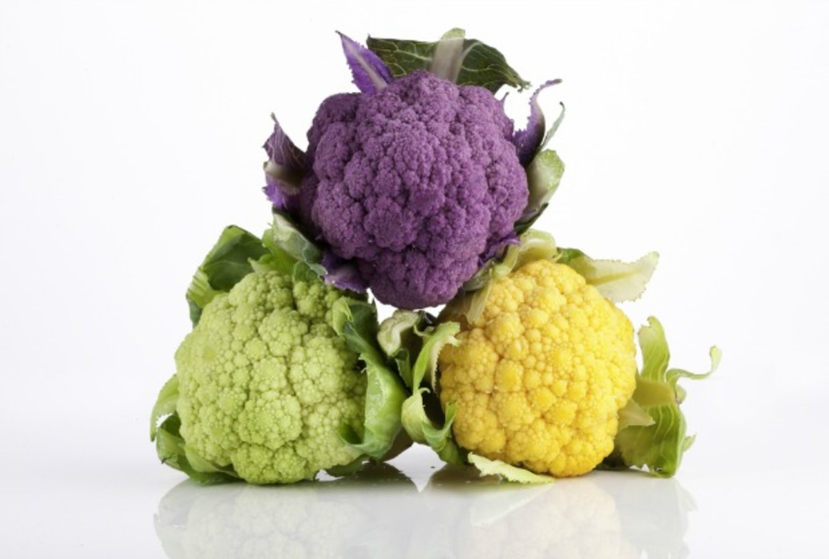 types of cauliflower