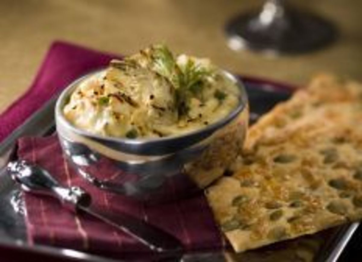Easy Idaho® Potato – Artichoke Dip