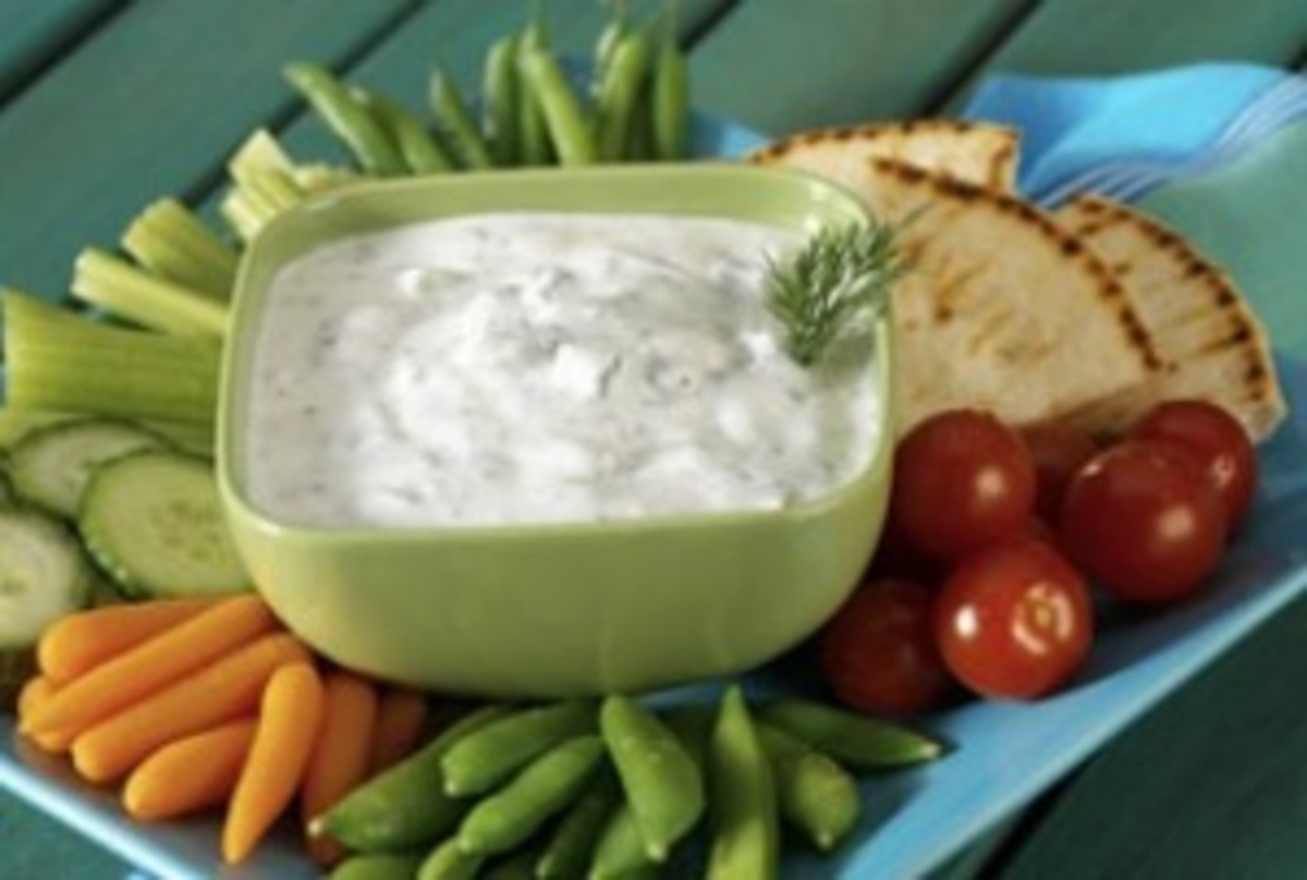 Cucumber-Yogurt Dip