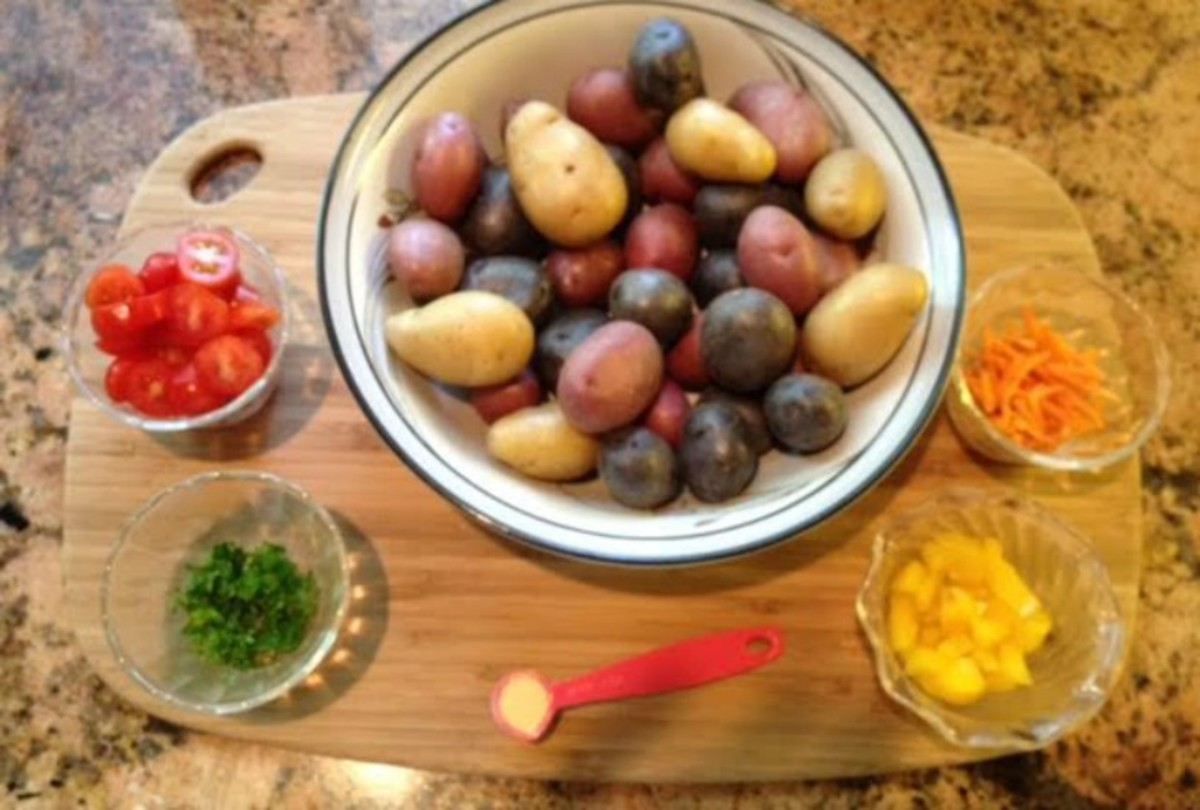 Colorful Potato Salad IP