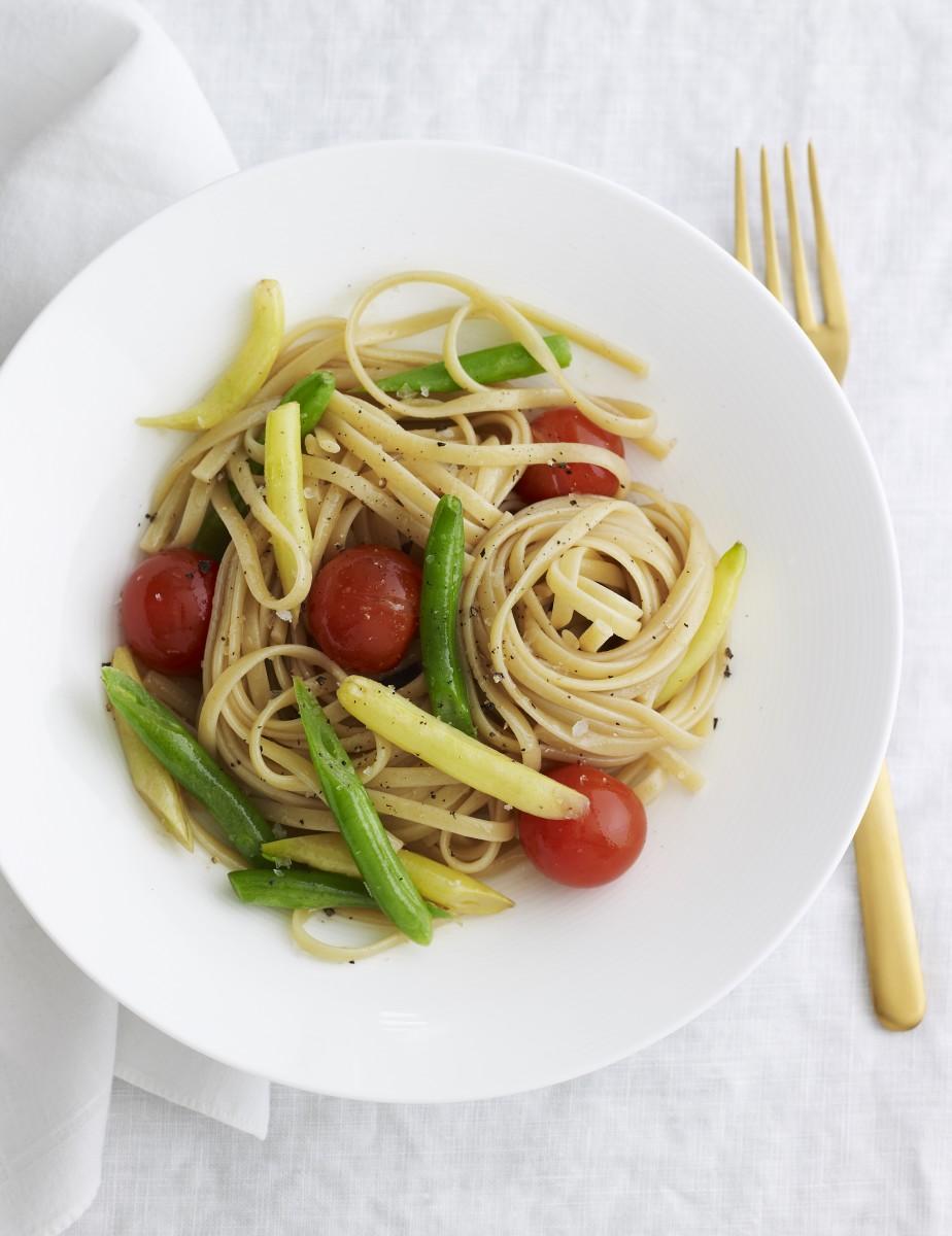 Grilled Vegetable Linguine