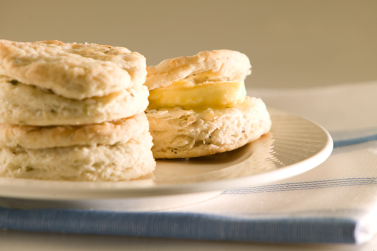 Herb Baking Powder Biscuits