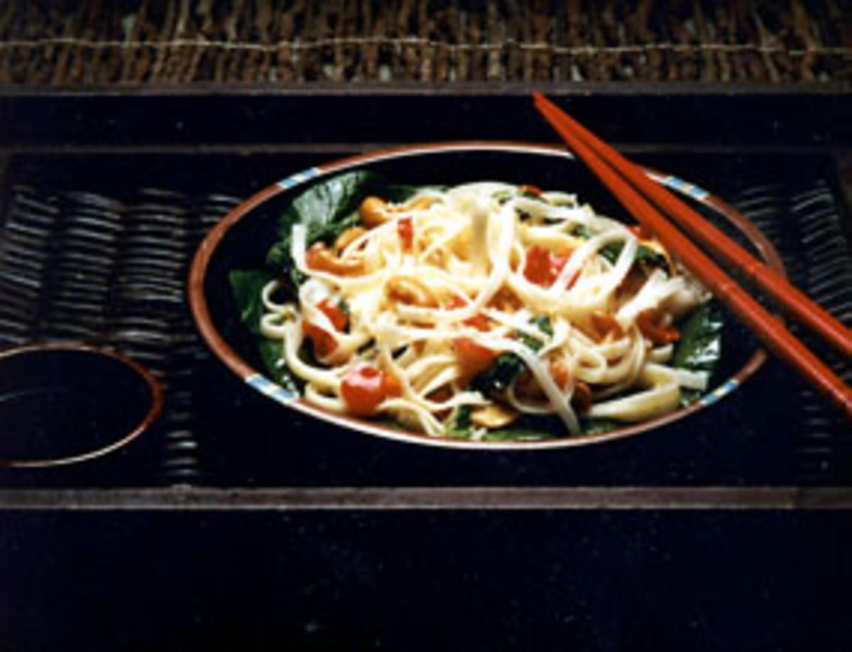Oriental Sesame Noodles
