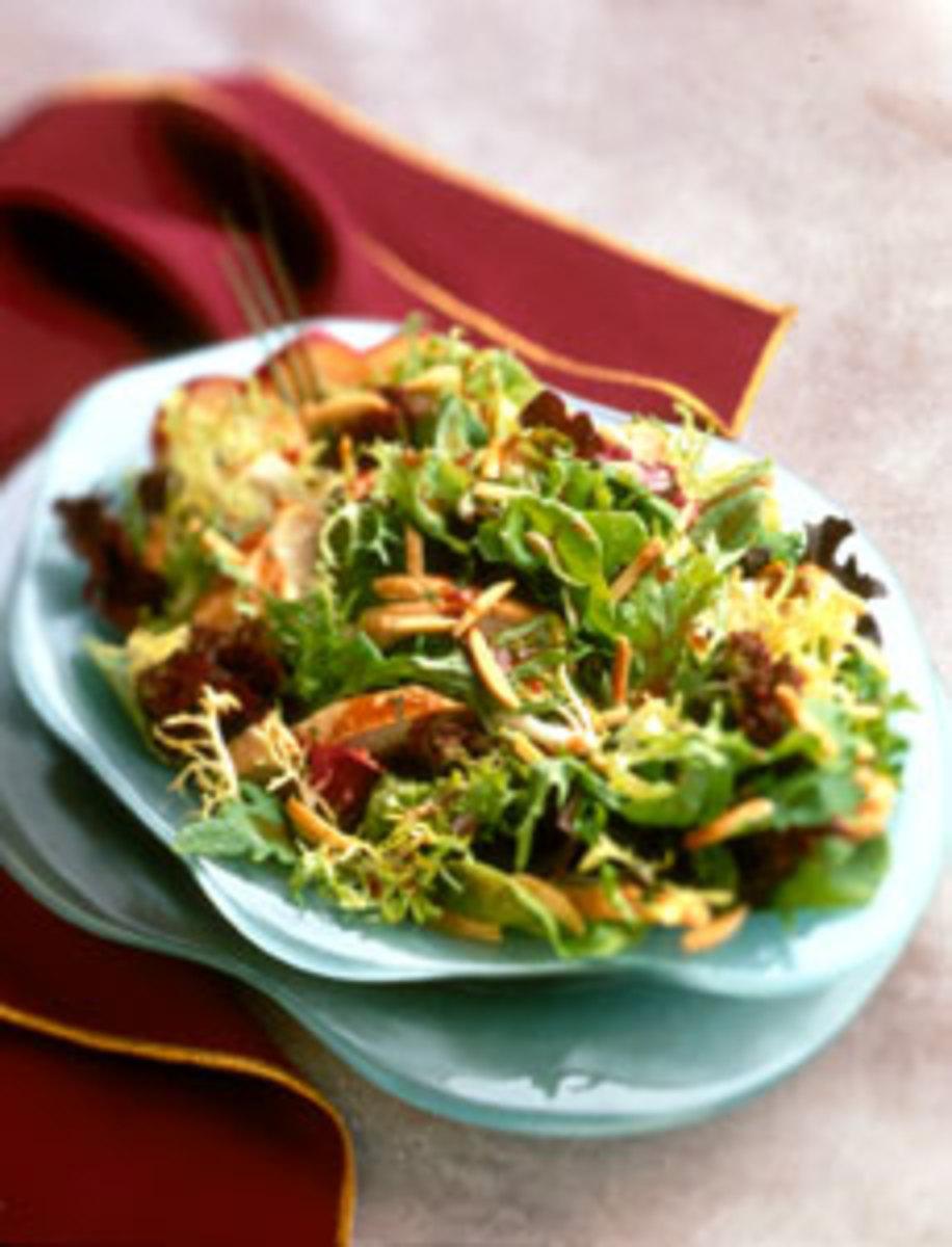 Asian Chicken Almond Salad