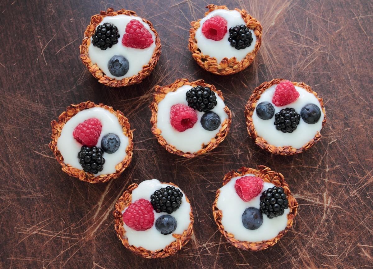 honey oat edible cups