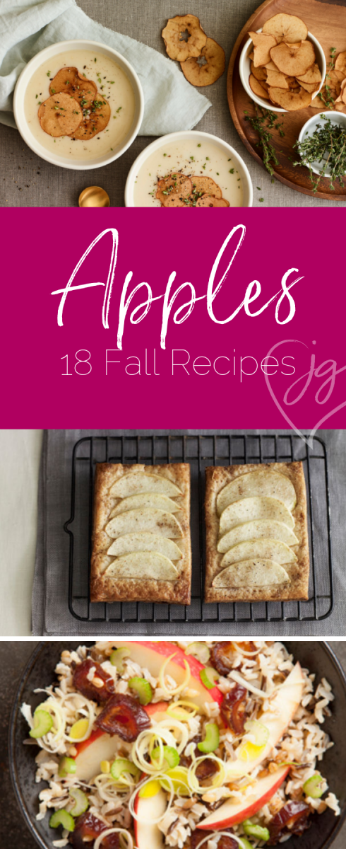 18 amazing apple recipes specifically for the Fall season