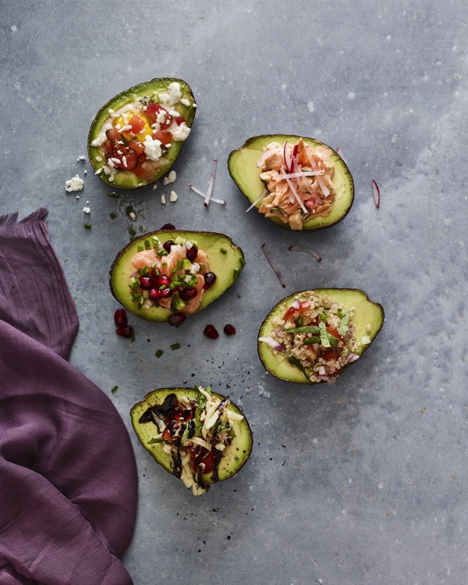 stuffed avocados