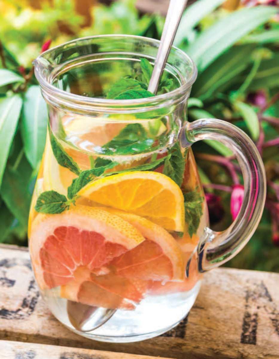 citrus spa water