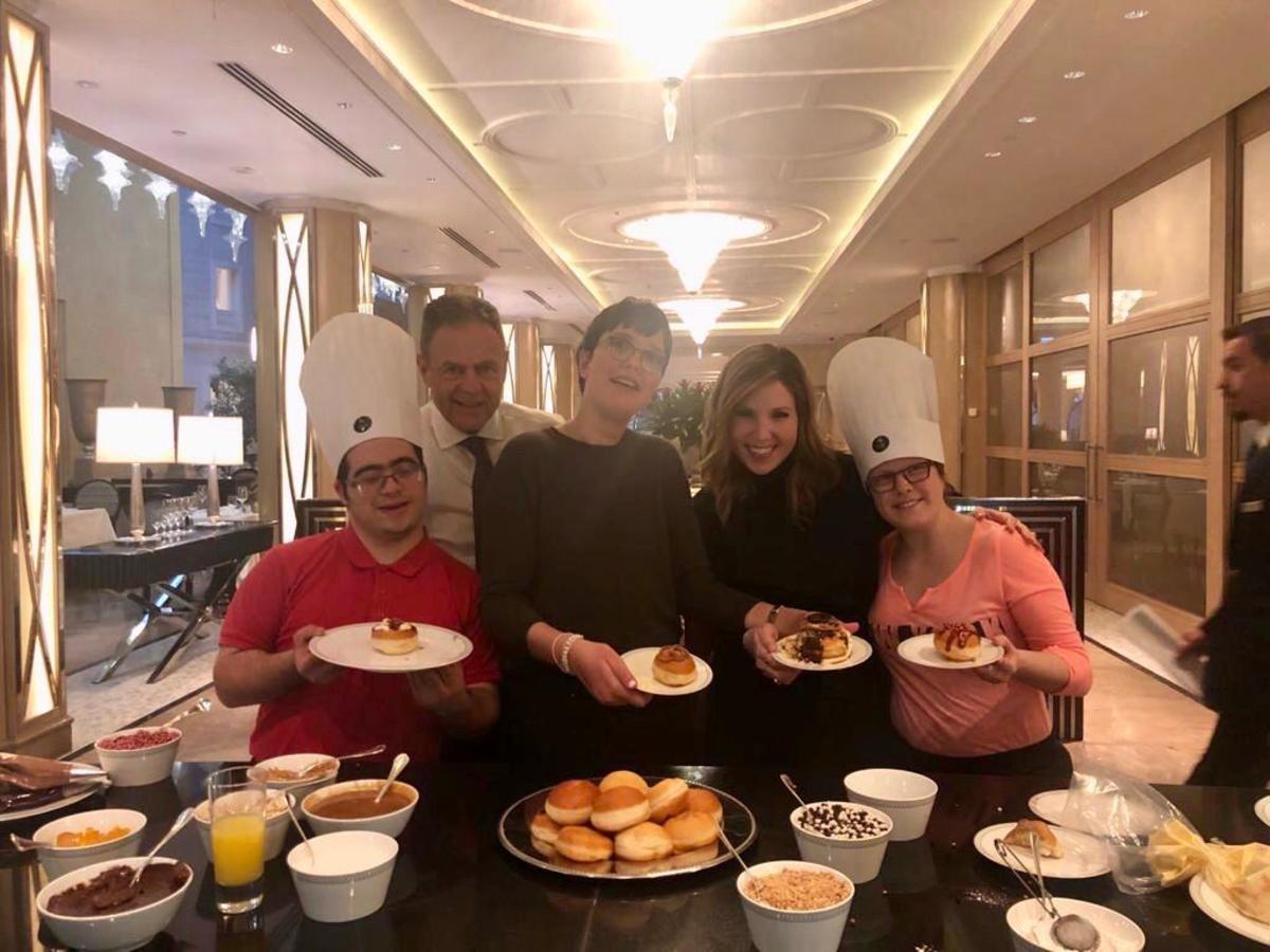 L-R: Refael, Avner On General Manager Waldorf Astoria Jerusalem, Ortal, Me and Ella