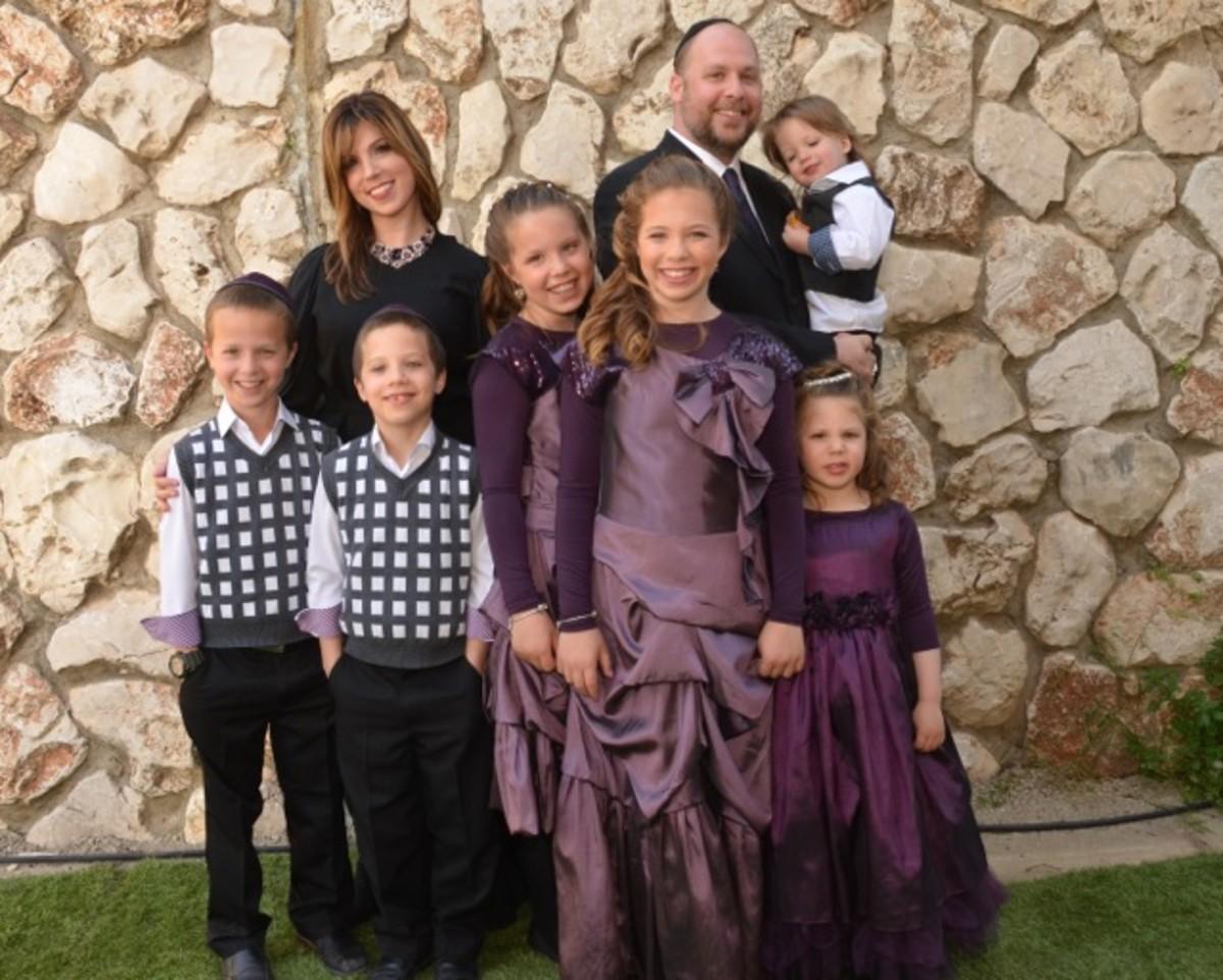 Bracha Miriam Bat Mitzvah Family