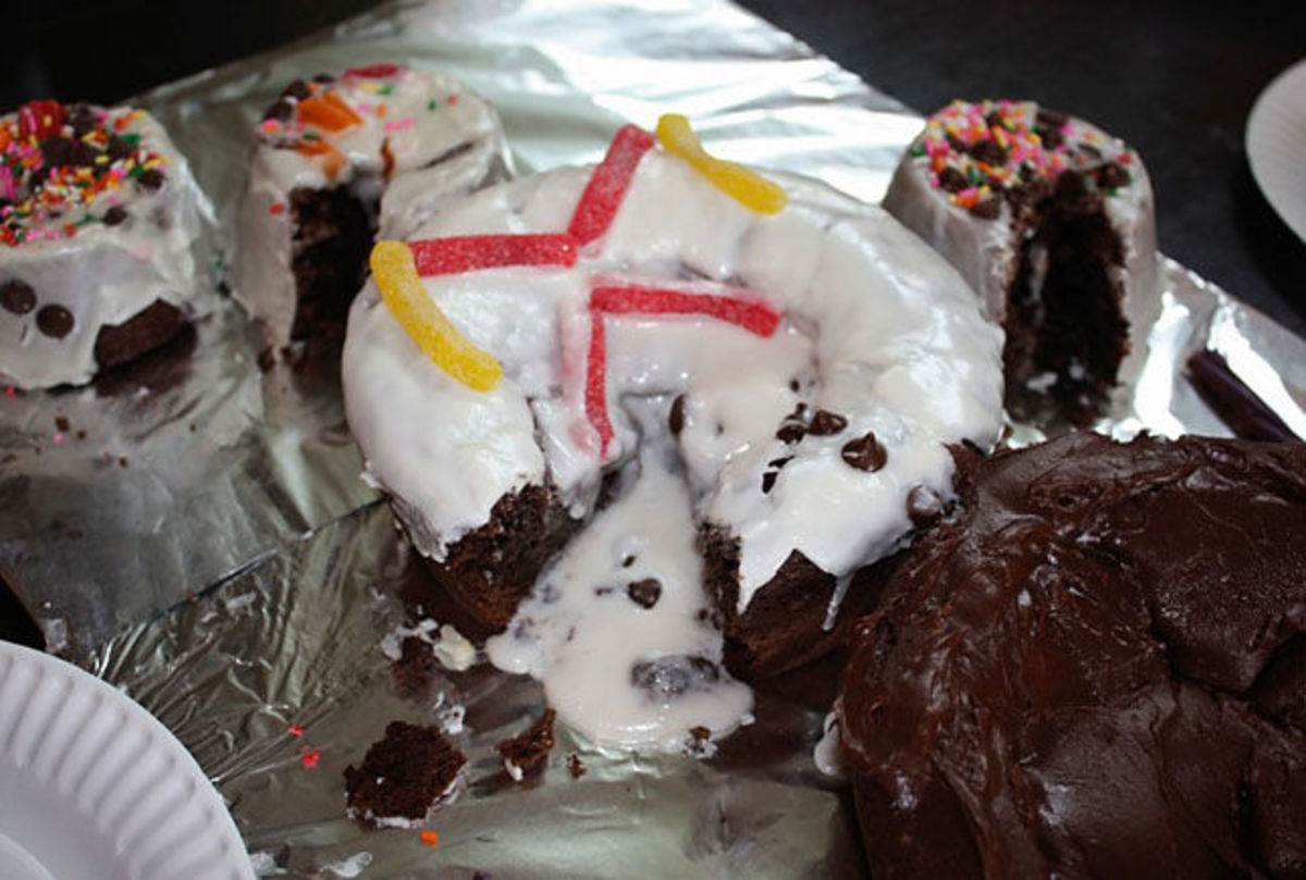 Snowman Cake Disaster