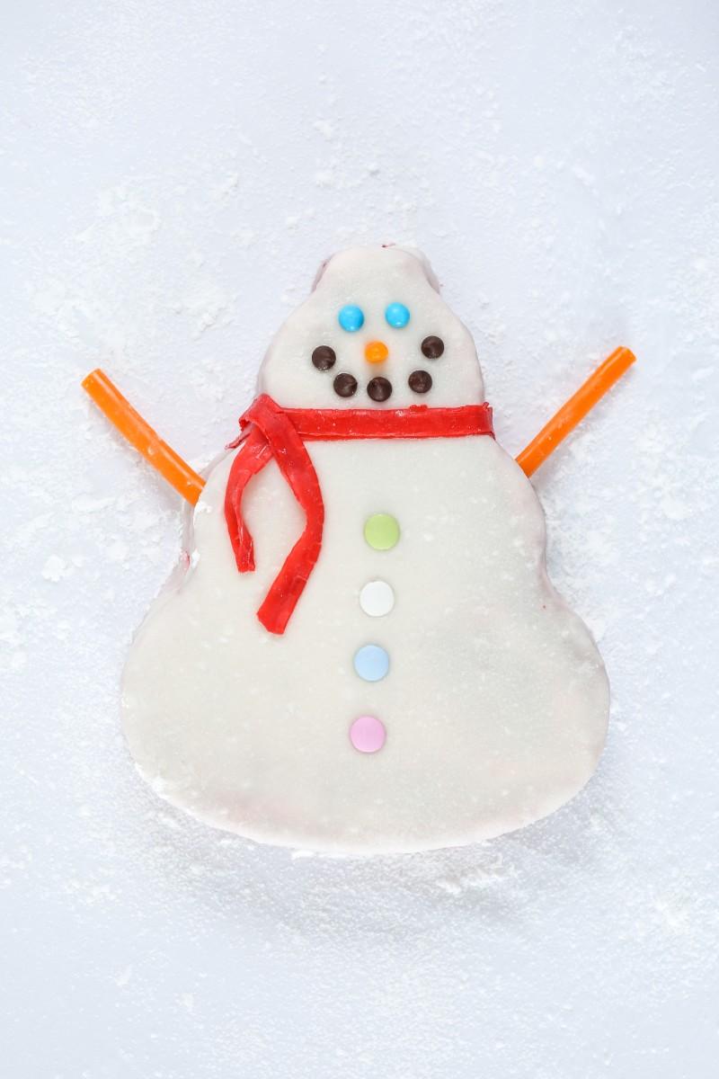 snow man cake_0919