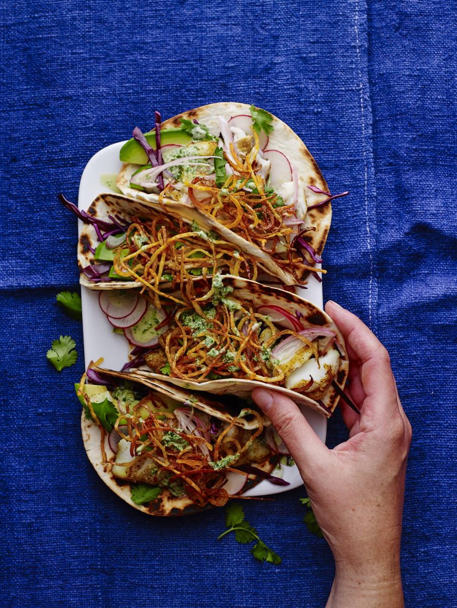 Fish Shawarma Tacos