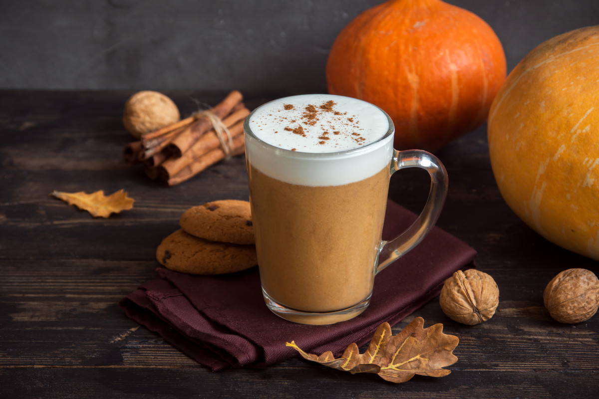 Pumpkin Spice Latte or Steamer