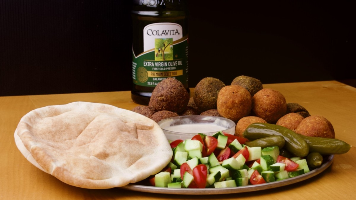 Tri Color Falafel Recipe