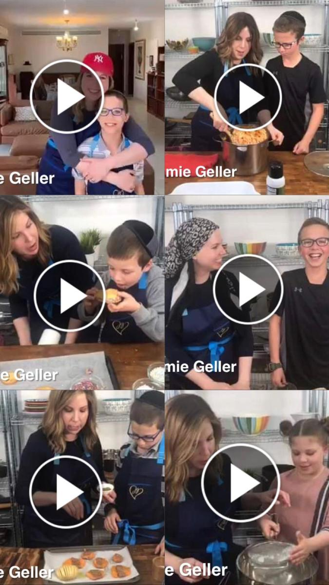 Cooking in Quarantine Facebook Live Series