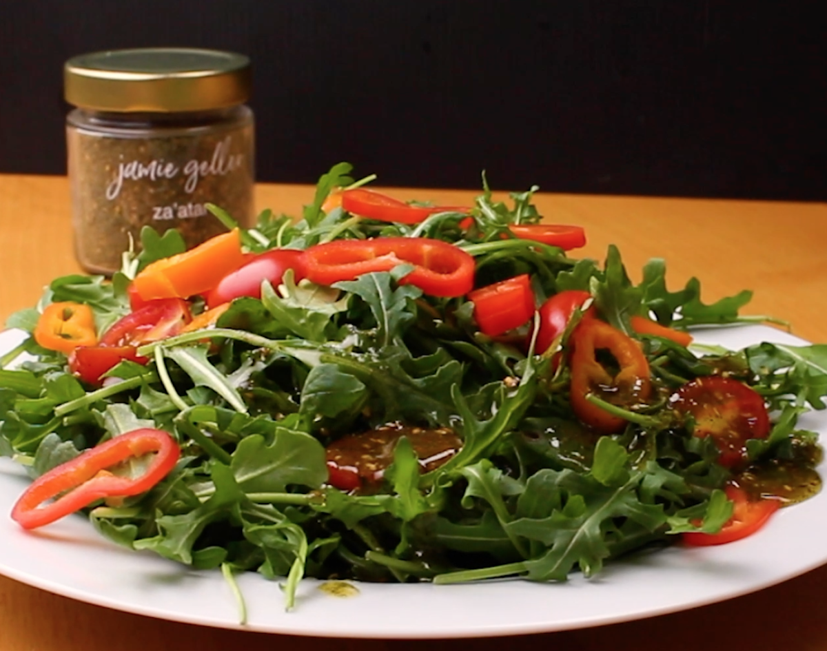 Za'atar Salad Dressing