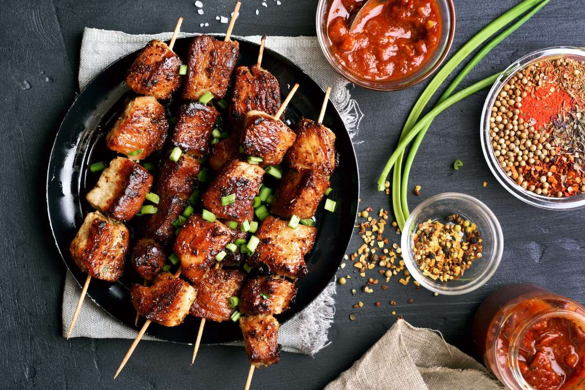 Jerusalem Mixed Grill Beef Skewers