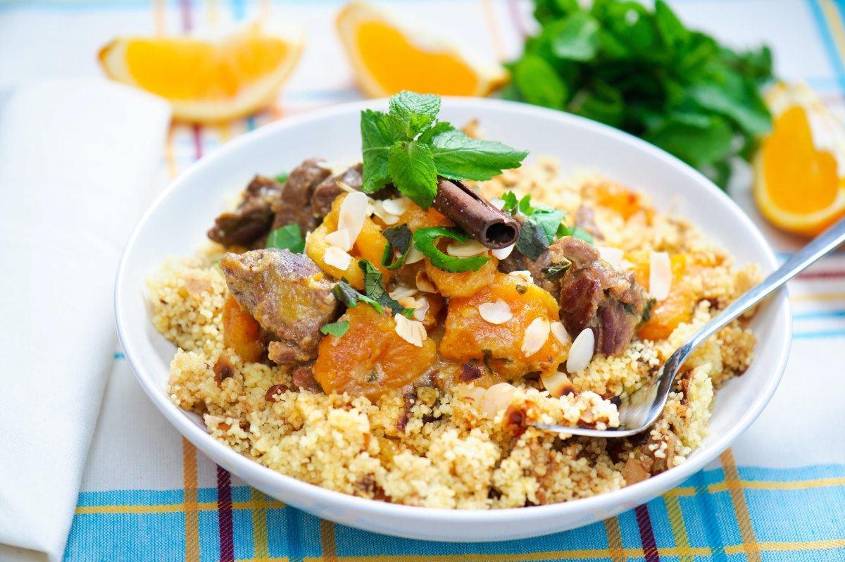 Spiced Couscous with Almonds