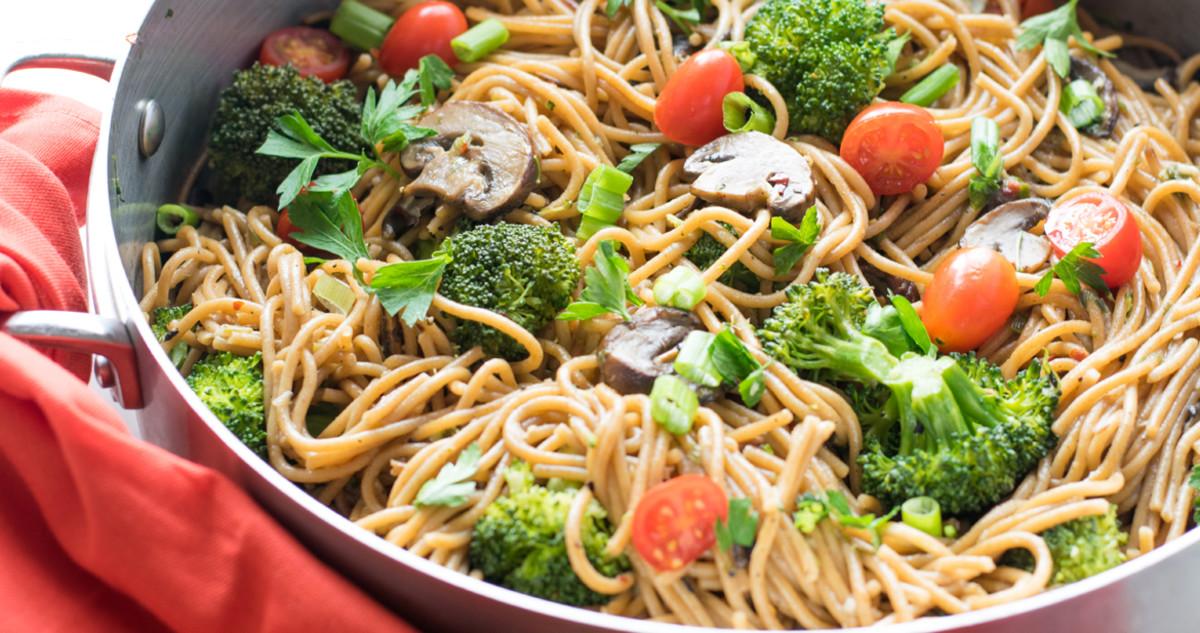 one pot broccoli pasta