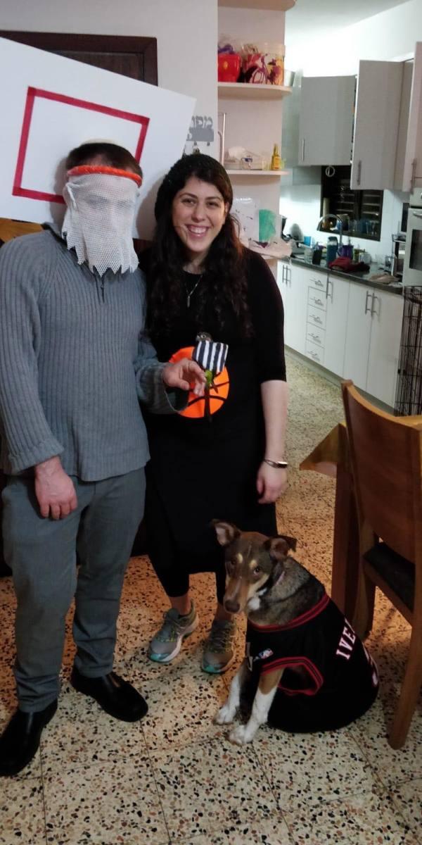 Basketball family costume