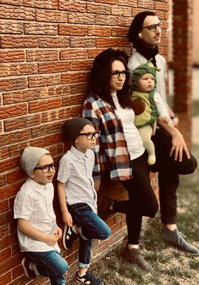 Hipsters family costume