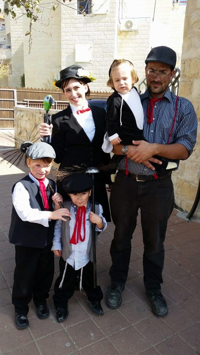 Mary poppins family costume