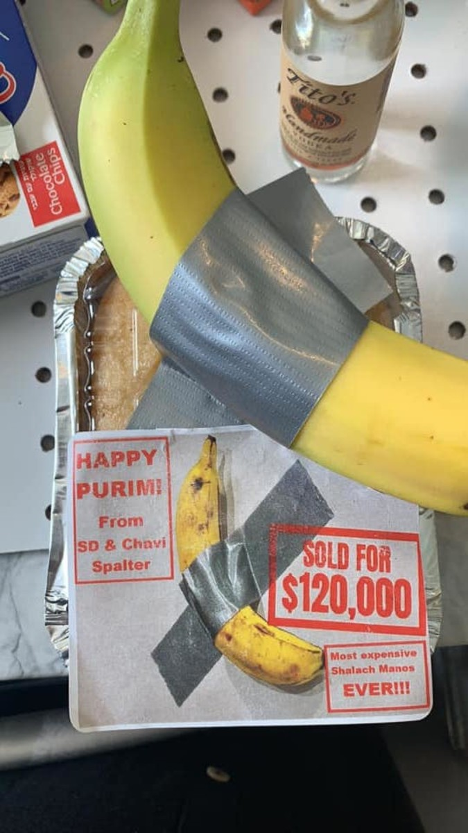 Art Basel's Taped Banana