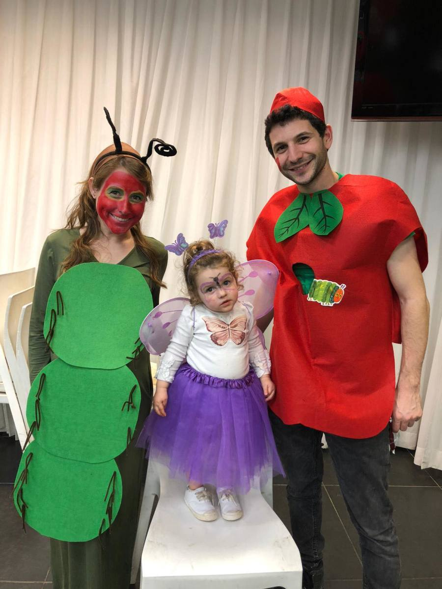 very hungry caterpillar family costume