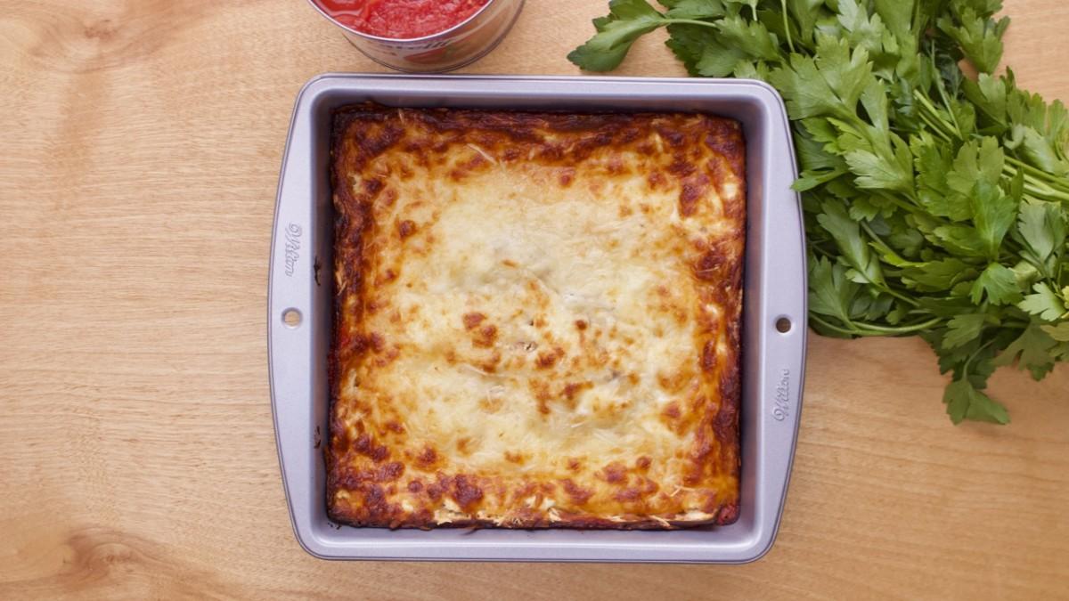 Classic Easy Matzo Lasagna