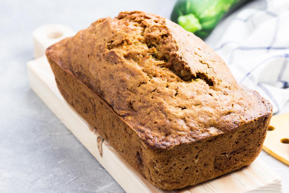 Gluten free Zucchini Bread Loaf