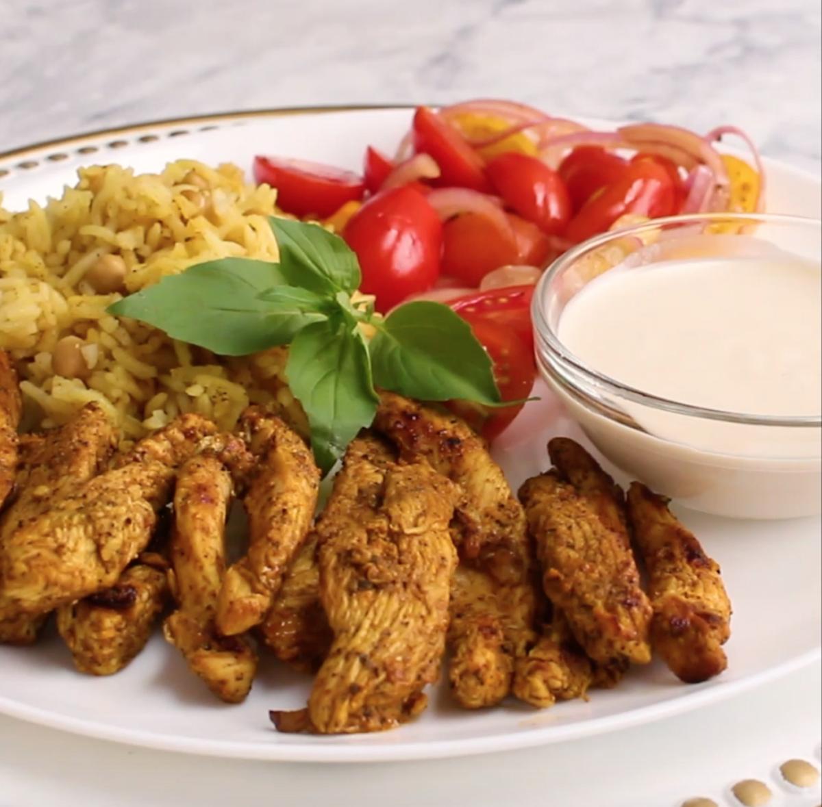 Chicken Shawarma 30 minute dinner