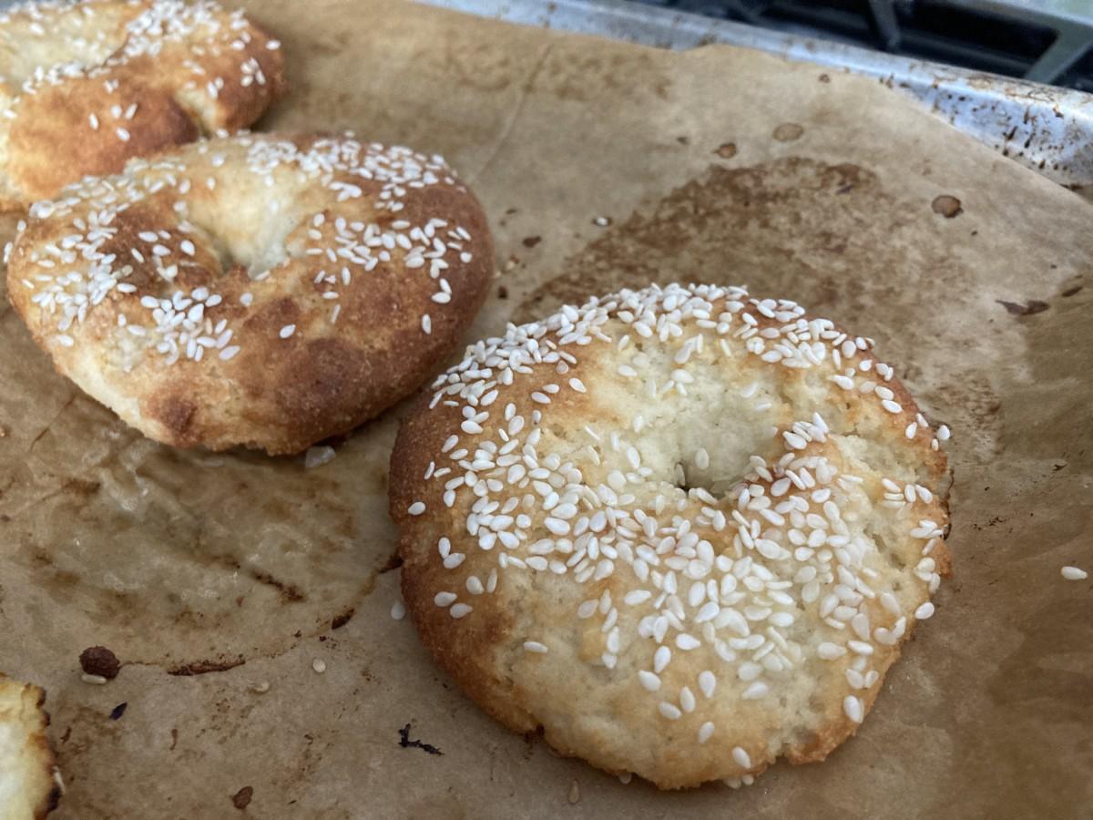 passover nut bagels
