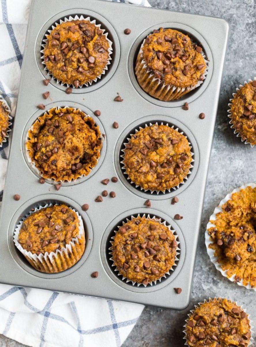 Paleo-Almond-Flour-Pumpkin-Muffins-600x811