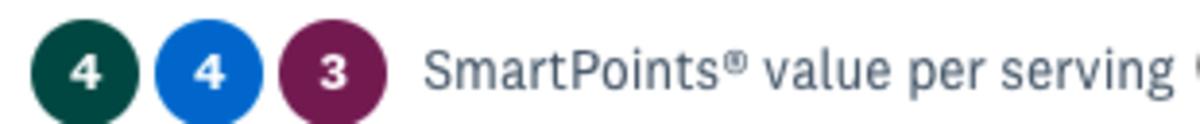 ww smart points knish