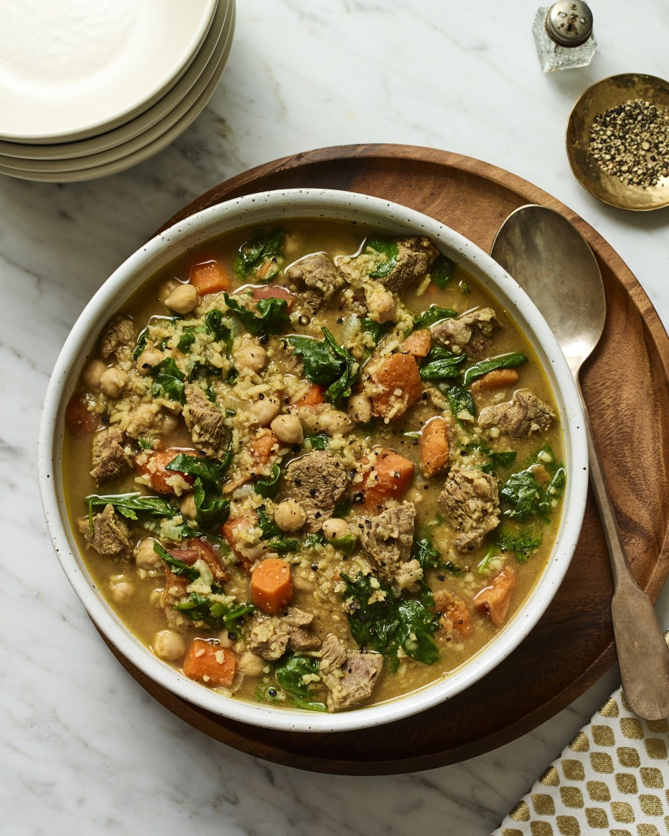 lemon lamb stew cholent