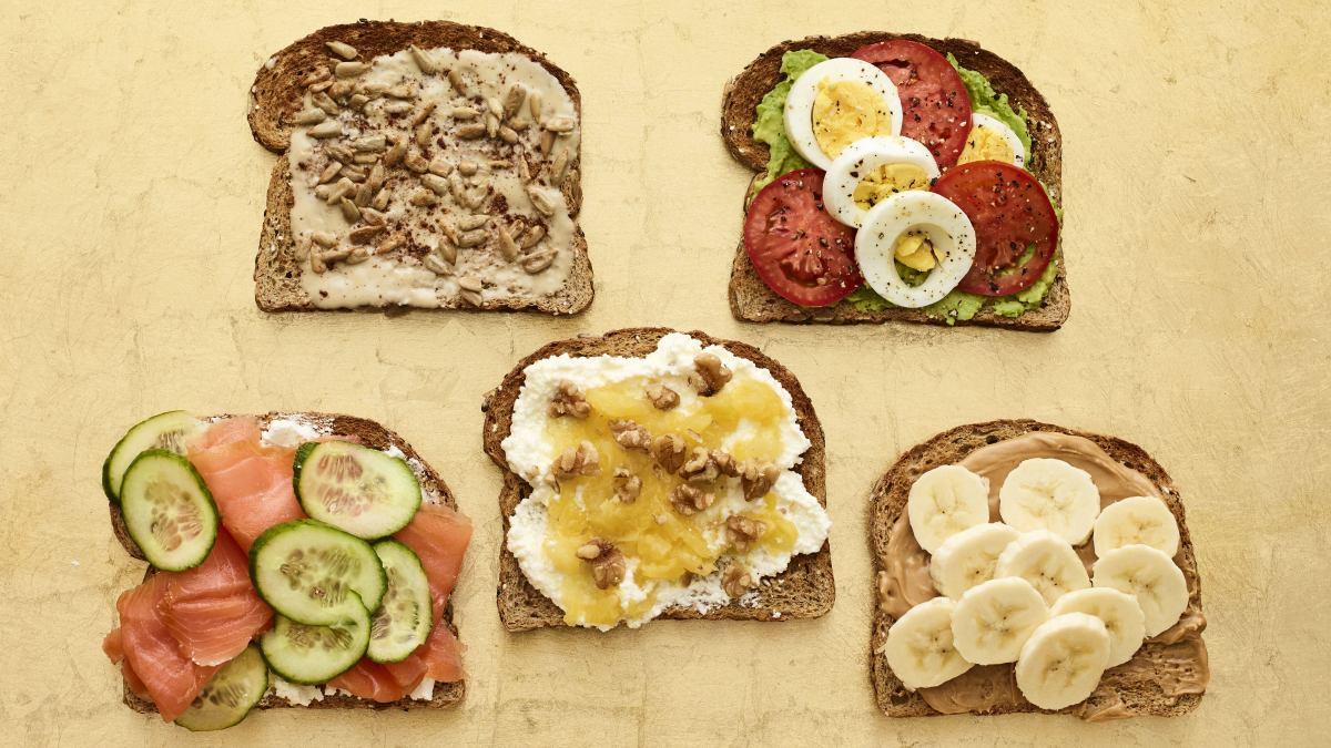 breakfast toast 5 ways