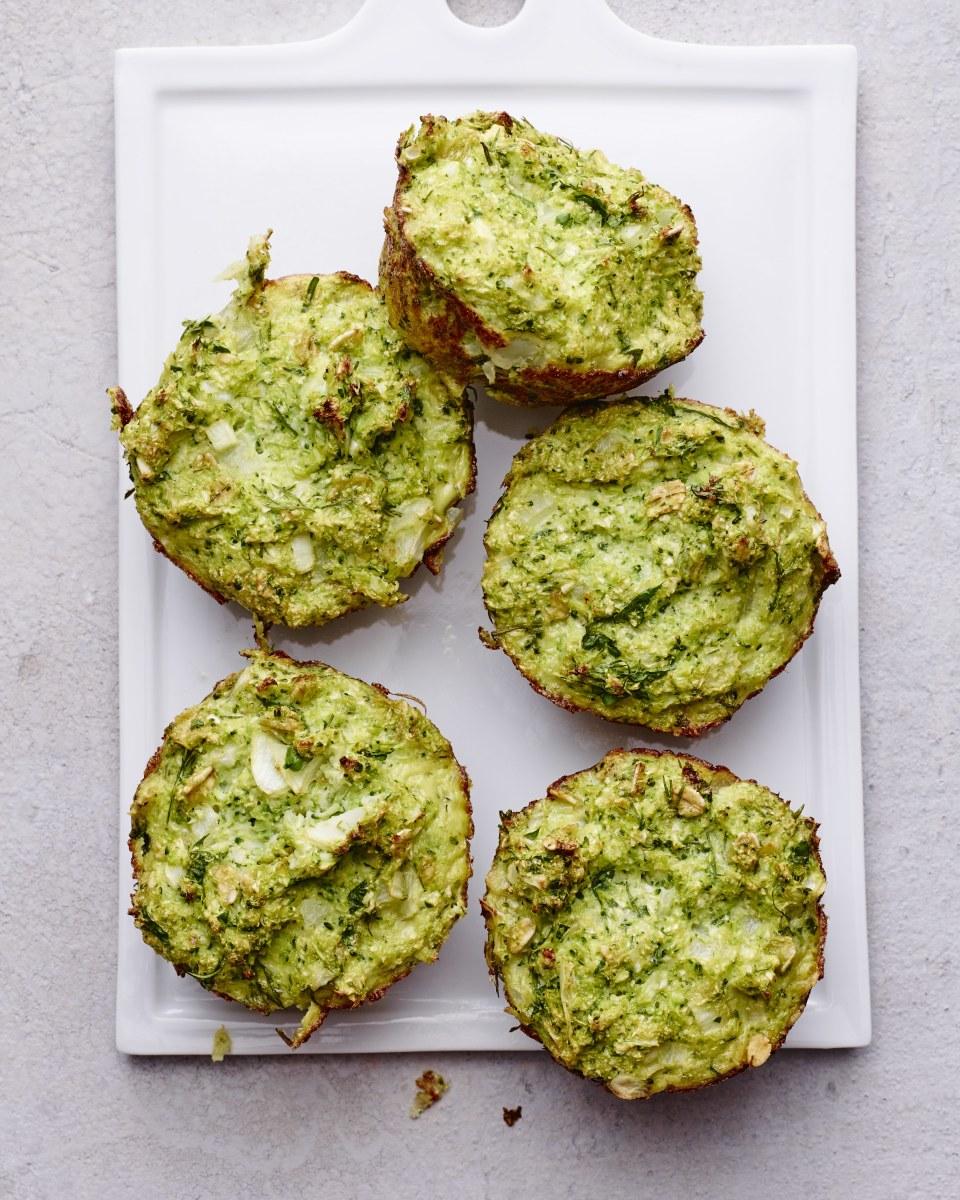 broccoli cauliflower kugels