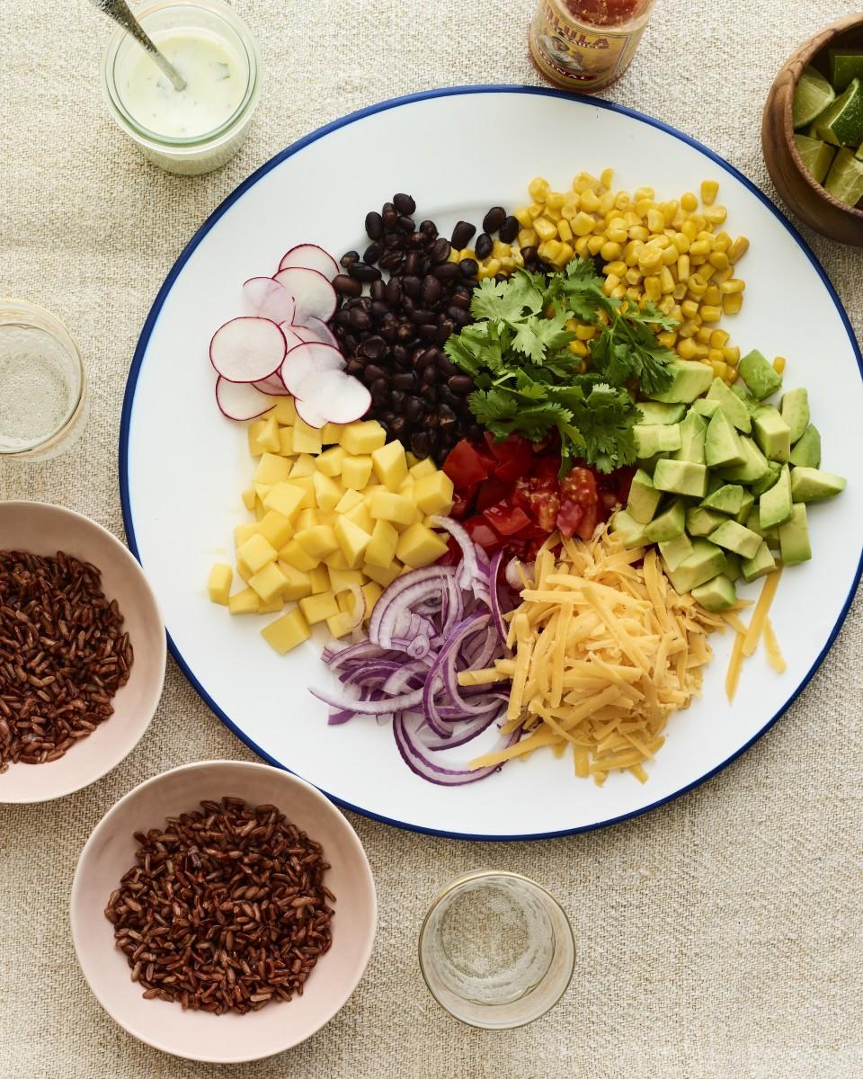burrito bowl make your own