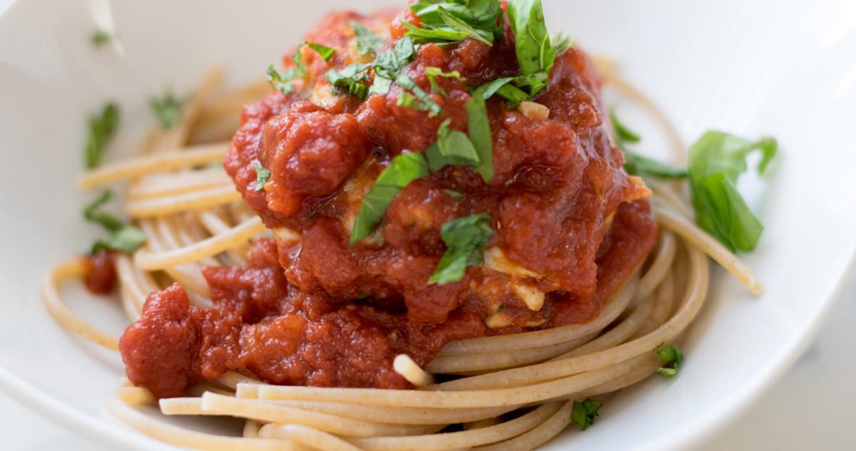 one pot spaghetti with super meatballs